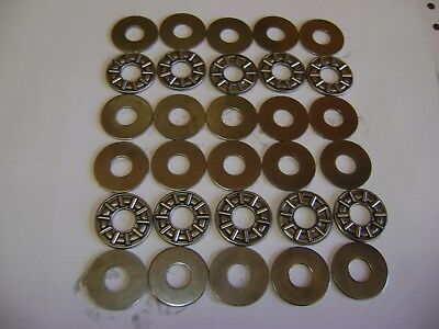 10 AXK0821 Thrust Needle Roller Bearings 8x21x2 mm With Washers A192
