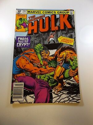 Incredible Hulk #257 FN/VF condition Huge auction going on now!