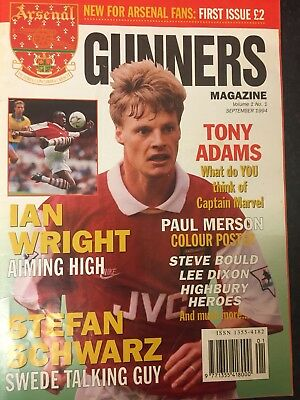 First ever Arsenal fan Magazine
