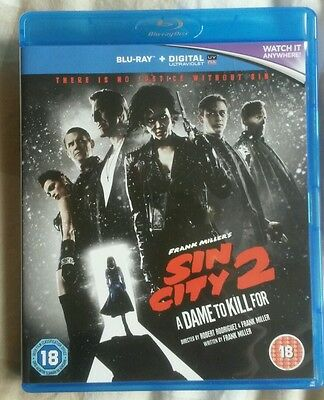 Sin City 2 - A Dame To Kill For (Blu-ray 2014)