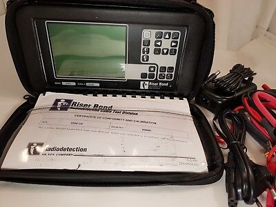 Radiodetection Riser Bond 3300 Ce Catv Coaxial Tdr Tester Test Set Fault Locator