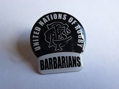 Barbarians United Nations Of Rugby Official Lapel Pin Badge