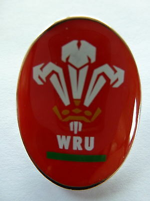 Wales (Welsh Rugby Union) Official Lapel Pin Badge