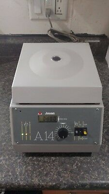 Jouan A14 Tabletop Centrifuge 14,000 rpm with Rotor