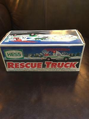 HESS 1994 RESCUE TRUCK Brand NEW in Box