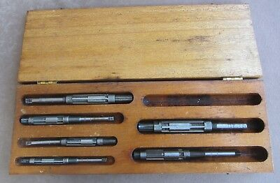CHADWICK & TREFETHEN 6 Piece Adjustable Reamer Set In Box 7/16 to 7/8  No 20-25