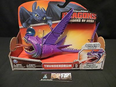 Thunderdrum Purple Variant How to Train Your Dragon Defenders of Berk Last 1