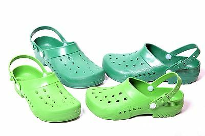 (R41) Unisex Garden Clogs Garden Shoes Clogs Shoes with Heel Strap NEW