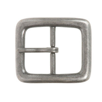 "1 1/4"" (33 mm) Nickel Free Single Prong Rectangular Belt Buckle"