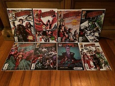 Complete Set Freshmen #1-6 + Yearbook Fundamentals 2  Top Cow Comics 2005 VF/NM