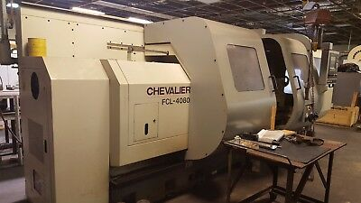 "Chevalier FCL4080 Combination Lathe with 6.5"" Bore"