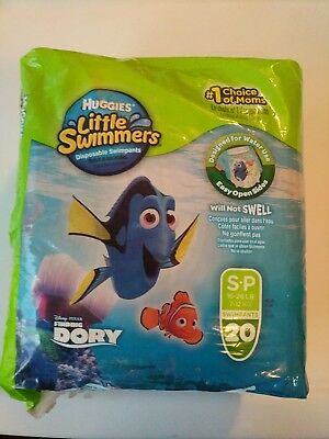 Huggies Little Swimmers Disposable Swimpants, Swim Diaper, Size Small, 20 Count