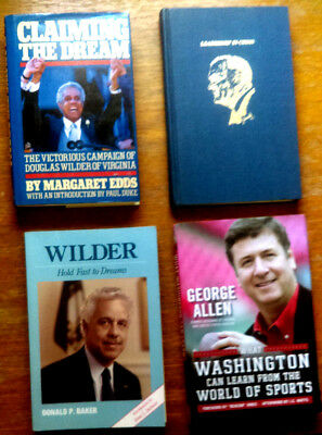 The Commonwealth of Virginia Governor Book Lot