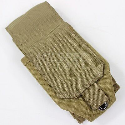 Eagle Industries Smoke Grenade Pouch Khaki Tan MOLLE SFLCS DEVGRU SEALs NSW
