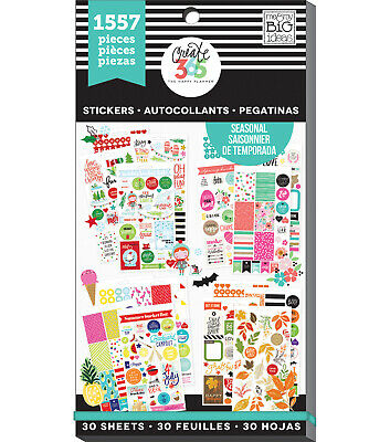 Create 365™ The Happy Planner™ Seasonal Value Pack Stickers 1557 NEW