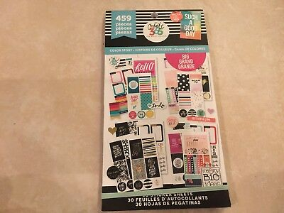 Create 365™ The Big Happy Planner™ Color Story Value Pack Stickers 459 NEW