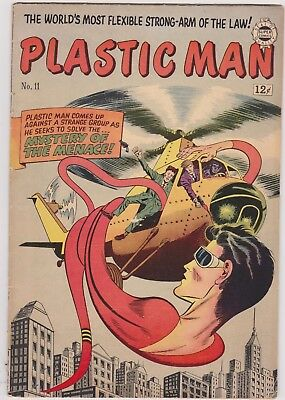 Plastic Man no.16. March 1949.This is the IW reprint Plastic Man no.11 from 1963