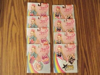 Lot of 8 Jojo Siwa Backpack Birthday Party Favors Adhesive Patches Swagger Star