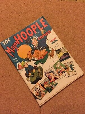 Major Hoople Comic First Issue 1942