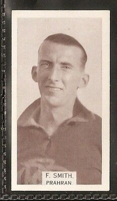 Wills Australian-Aussie Rules Footballers 1933-#152- Phahran - F Smith