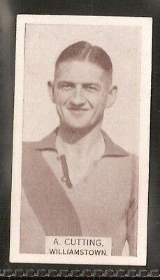 Wills Australian-Aussie Rules Footballers 1933-#190- Williamstown - A Cutting