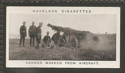 Wills Australian-War Pictures (Havelock)-#04- Cannon Masked From Aircraft