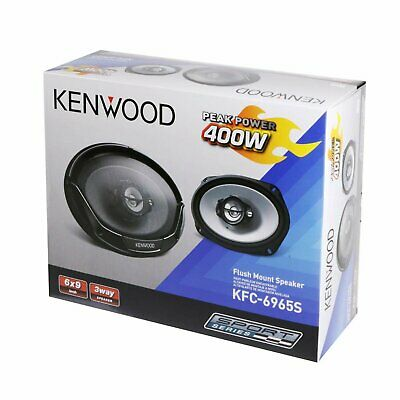 Kenwood KFC-6965S 6 x 9 Inches 3-Way 400W Coaxial Car Speakers