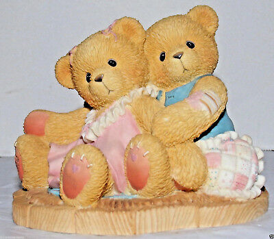 Cherished Teddies Ruth and Gene Even When We Don't See Eye to Eye 1998  #476668
