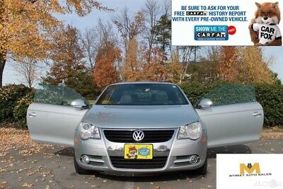 2008 Volkswagen Eos **NO RESERVE AUCTION!** RARE!