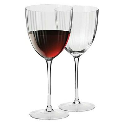 Krosno Opulence Set of 2 Red Wine Glass 300ml Brand New