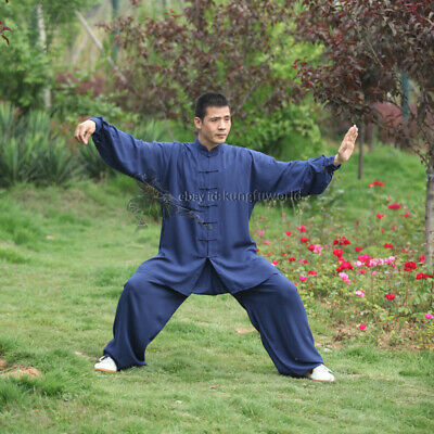 5 Colors Soft Cotton Kung fu Tai chi Uniform Martial arts Wing Chun Wushu Suit