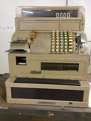 National Cash Register Class 6000 Works Good Condition