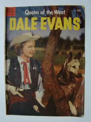 Queen of the West Dale Evans #5 Russ Manning Art Dell Comic Book 1954 VG