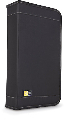 Case Logic CDW-320 Nylon 320-Disc CD Wallet and 16 CD/DVD Fast File Holder (Blac