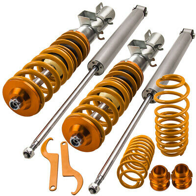 KIT SUSPENSION COMBINE FILETE for SEAT LEON 1M CUPRA ADJUSTABLE Amortisseurs New
