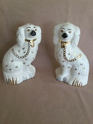Pair Beswick Mantlepiece Dogs 1378/4