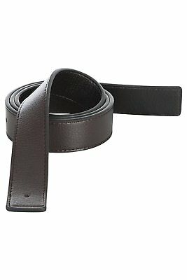 Replacement Leather Belt Strap Reversible Fits for Hermes XL 40 42 Black Brown