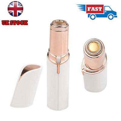 NO Flaw Skin Women Painless Hair Remover Face Facial Finishing Touch UK STOCK