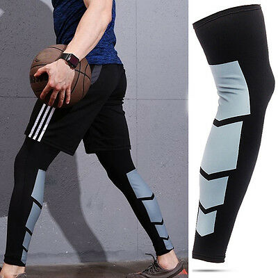 Men Women Compression Socks Knee High Support Stockings Leg Thigh Sleeve