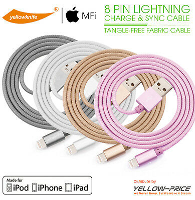 [Heavy Duty] Braided Lightning Charger Cable For iPhone 5 6 7 8 X iPod Touch-1M