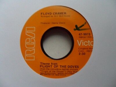 "Floyd Cramer  Theme From Flight Of The Doves / Makin Up       7""  Vinyl"