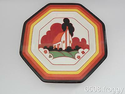 Wedgwood - CLARICE CLIFF - Bizarre Display Plate *FARMHOUSE* L/E of 1000 only!