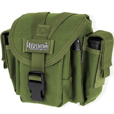 Maxpedition M4 Unisex Pouch Waistpack - Green One Size