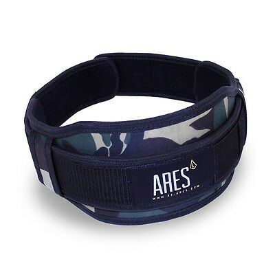 Ares Weight Lifting Belt Camo crossfit and strength training belt