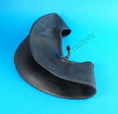 "CRANKED Valve Inner Tube for 8"" Trailer Wheel 400x8, 400-8, 3.50-8, 4-80/4.00-8"
