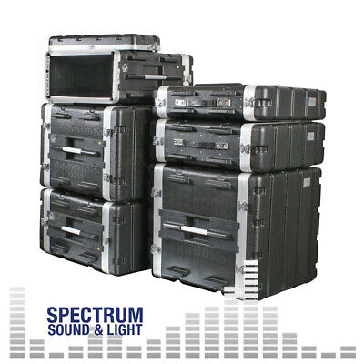 ABS Rack Flightcases - with Lift-Off lids front and rear - Pulse (GROUP) 19'' ra