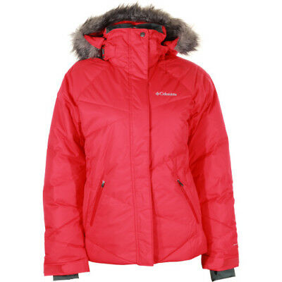 Columbia Lay D Down Womens Jacket - Red Camellia All Sizes