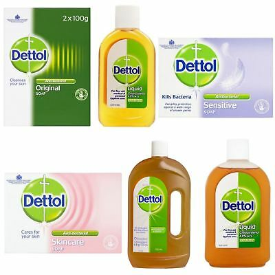 Dettol | Dettol 250/500/750ml Liquid Bar Soap Skincare Sensitive Original Soap |