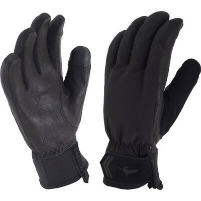 Sealskinz All Season Womens Gloves - Black Charcoal All Sizes