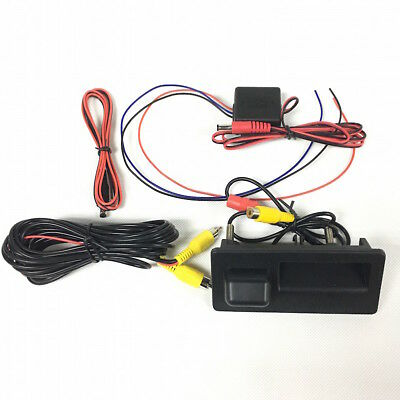 Trunk AV Rearview Camera Reverse With Time Relay RCD330 For VW Tiguan Jetta MK6